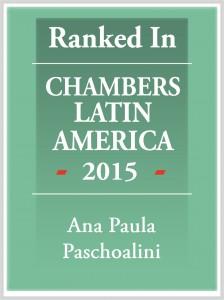Chambers Latin America 2015 Ana Paula