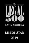 "The Legal 500 recommends Ana Paula as ""rising star"" in Competition and Antitrust (The Legal 500 Latin America 2019)."